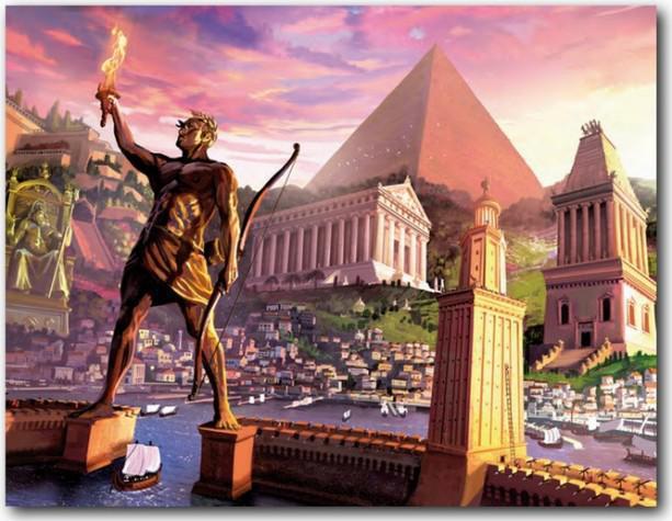 meraviglie del mondo antico