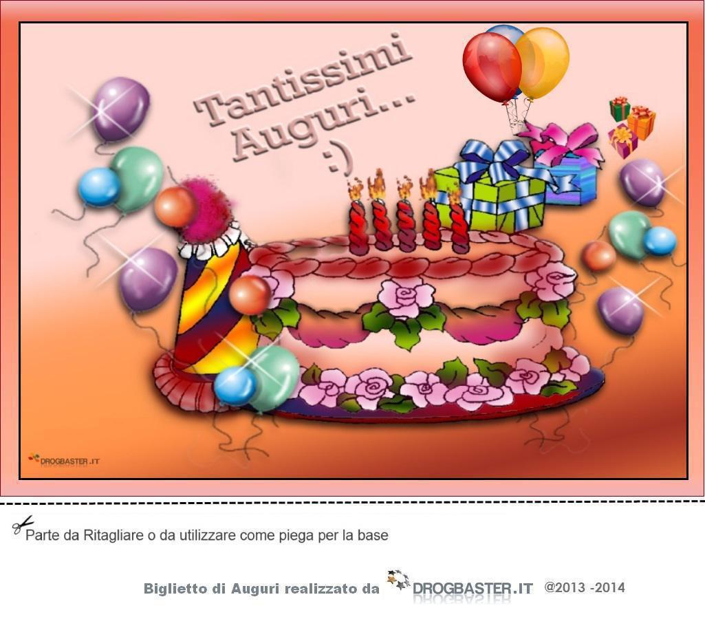 sms di auguri per compleanno