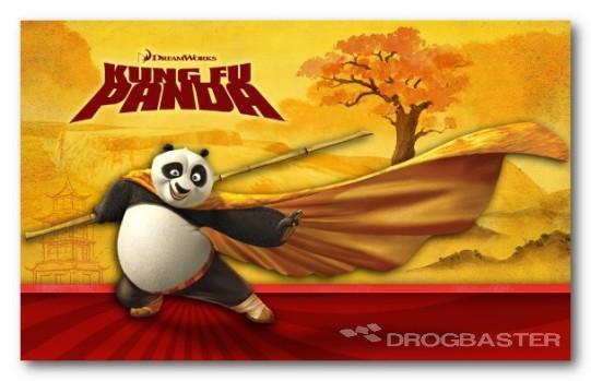 Disegni per i bambini personaggi cartoni animati kung fu