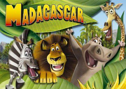 gioco colora Madagascar