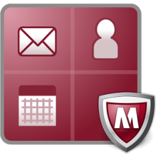 software antivirus McAfee logo
