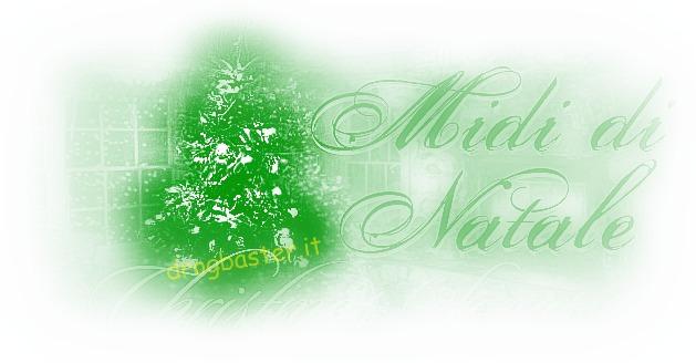 midi canzone di Natale