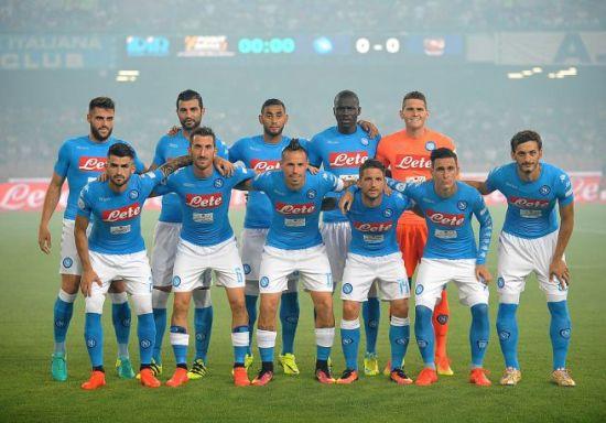 Foto di gruppo squadra Napoli