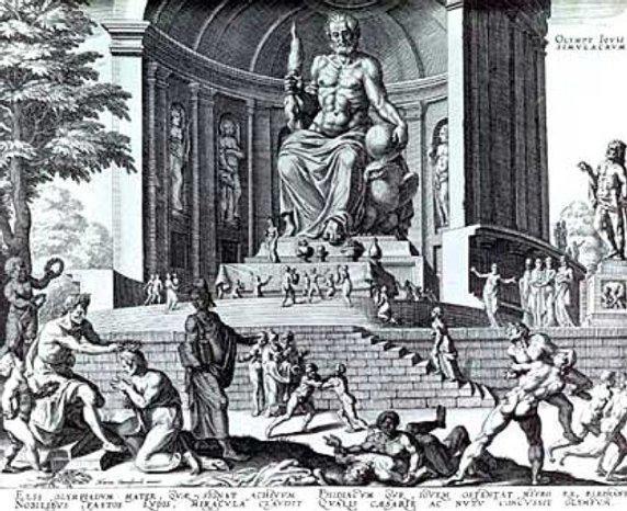 La Statua di Zeus Ad olimpia