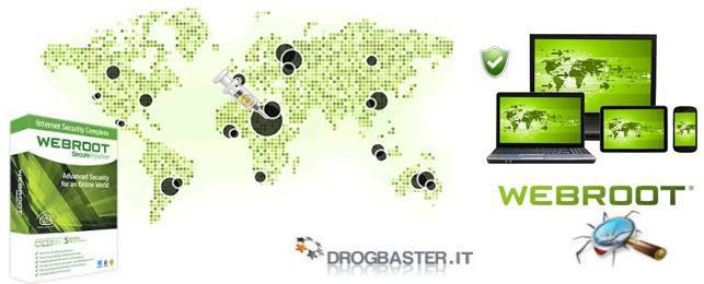 Webroot protezione antivirus e antispyware