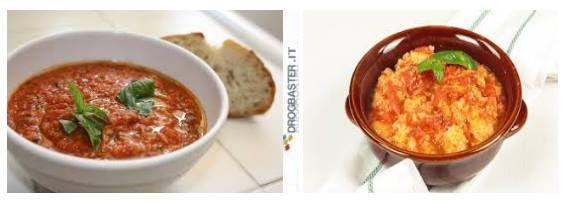 alternativa piatto unico pappa al pomodoro