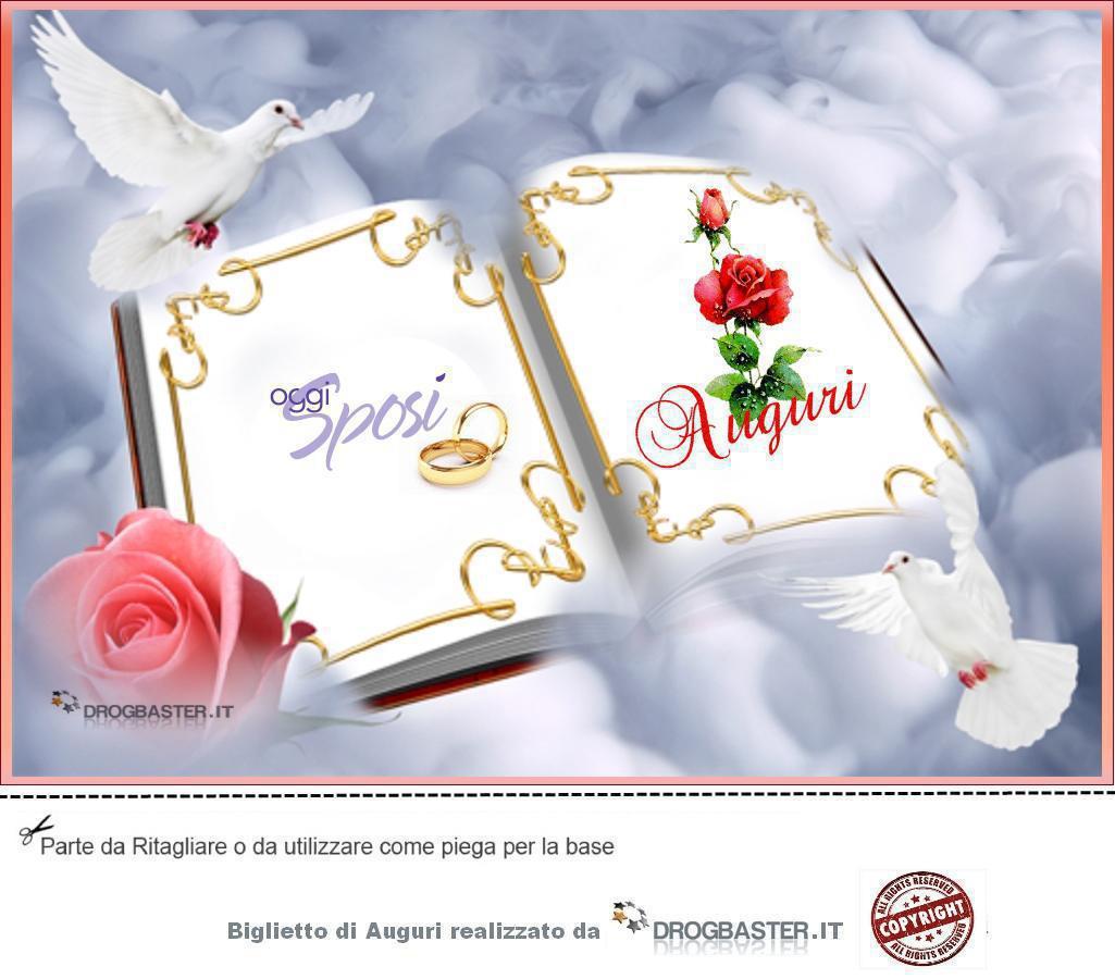 Auguri Matrimonio Vasco : Biglietto matrimonio da stampare gratis