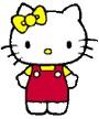 sorella gemella Hello Kitty