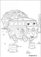 disegno cartone animato Cars