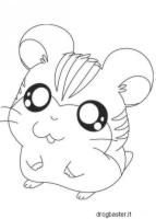 disegno cartone animato Hamtaro