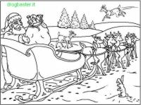 Disegni Babbo Natale da Colorare