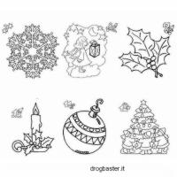 decorazione natalizie da stampare e colorare
