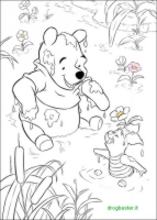 winnie the pooh da colorare e stampare