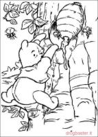 Winnie the Pooh goloso di miele