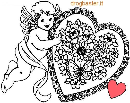 Disegni da colorare per l 39 infanzia e la didattica for Disegni di cuori da stampare gratis