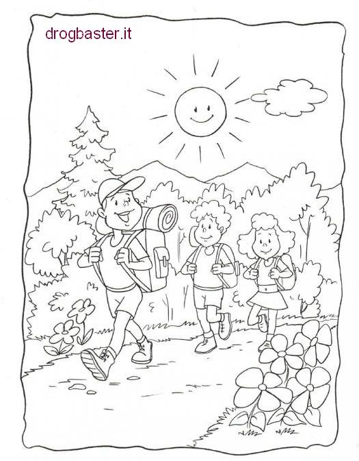 Favorito Disegni per bambini montagna - Fare di Una Mosca MU14