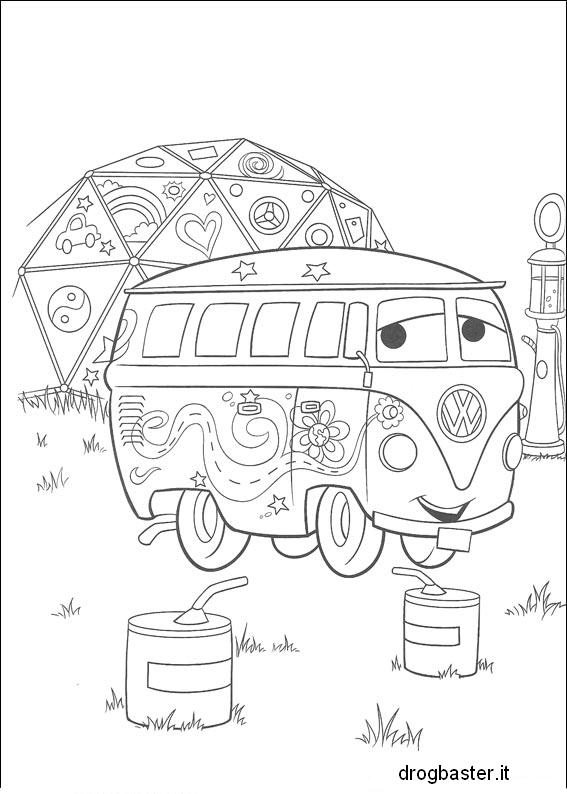 Disegni dei cartoni animati da stampare e colorare for Disegni da stampare e colorare cars