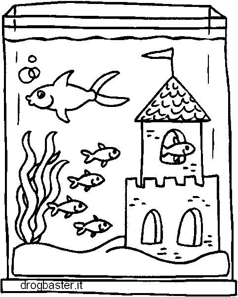 Disegni da colorare gratis con personaggi delle favole for Pesci da stampare e colorare
