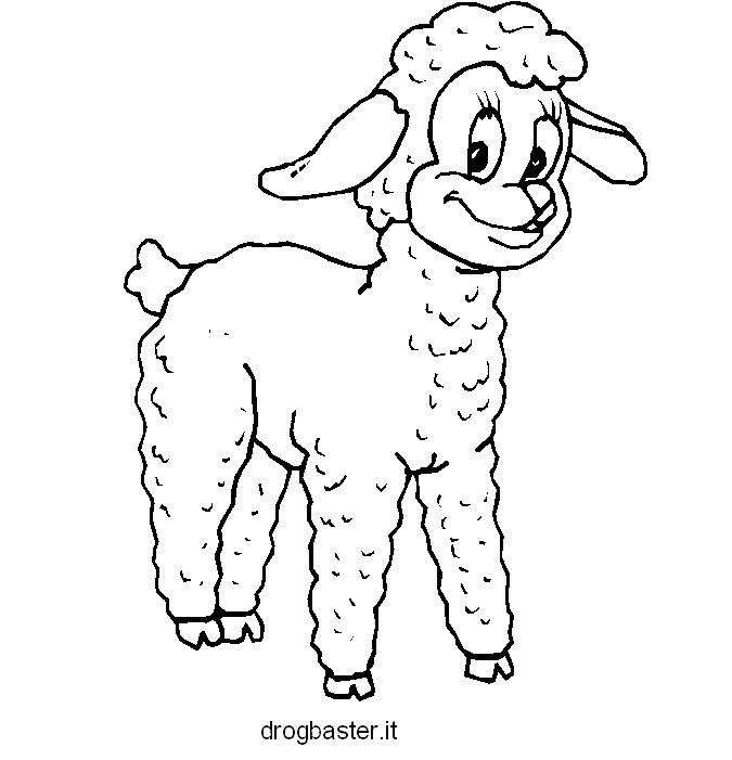 Disegni da stampare gratis per colorare adatti per bambini for Fattoria immagini da colorare