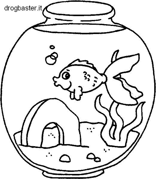 Disegni da stampare gratis per colorare adatti per bambini for Disegni pesciolino arcobaleno