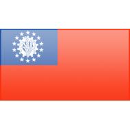 Birmania lista di bandiere dell'Asia