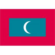 Bandiera nazionale dal 1965 anno dell'indipendenza dalla Gran Bretagna