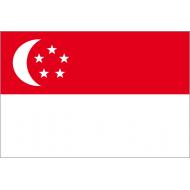Bandiera ufficiale dal 1959 anno dell'indipendenza dalla Gran Bretagna