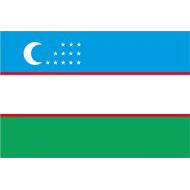 Bandiera adottata nel 1991 al momento della separazione dall'Unione Sovietica