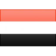 bandiera è stata adottata nel 1990 anno della unificazione dello Yemen del nord con lo Yemen del sud