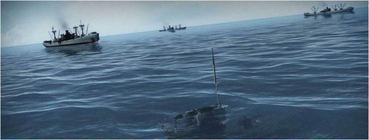 screenshots gioco game silent water nave vs sommergibili