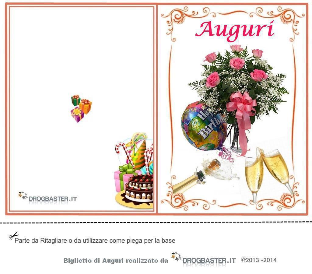 Biglietto Auguri Matrimonio Elegante : Biglietti gratis per fare gli auguri il compleanno