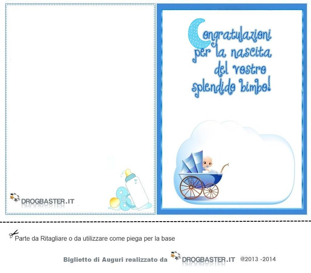 Bien-aimé Biglietti ringraziamento Nascita e Battesimo ZM44