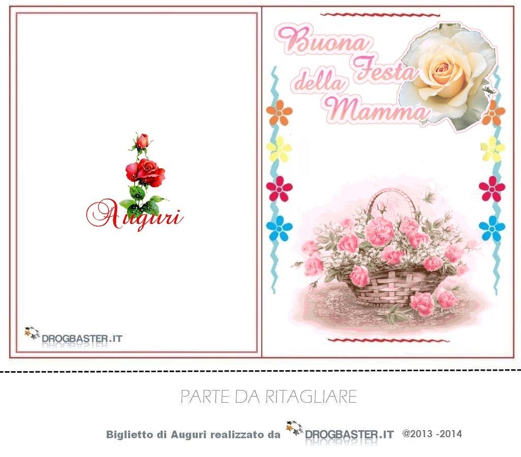 Famoso Biglietti e Cartoline Festa della mamma VW71
