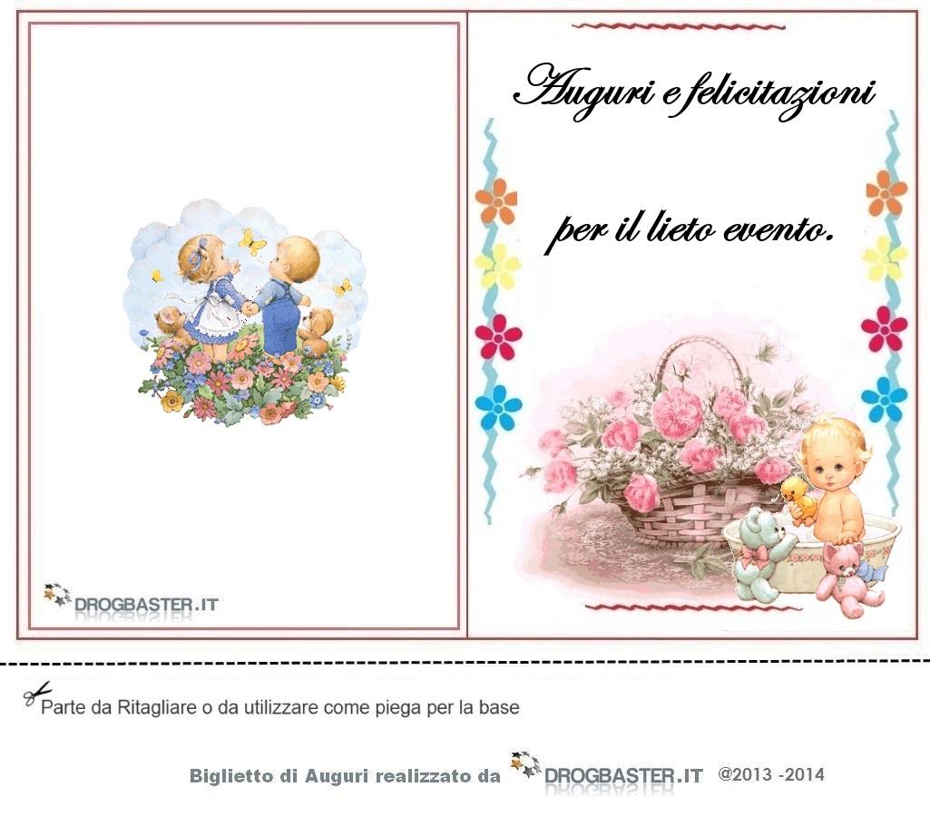 Frasi Matrimonio Auguri E Felicitazioni : Biglietti gratis auguri nascita o battesimo