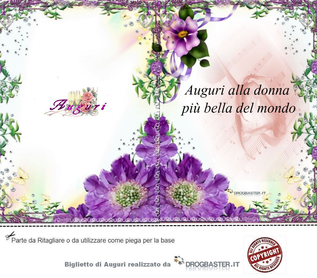 Auguri Buon Compleanno 8 Marzo.Auguri Per La Festa Della Donna 8 Marzo Bigliettini Da