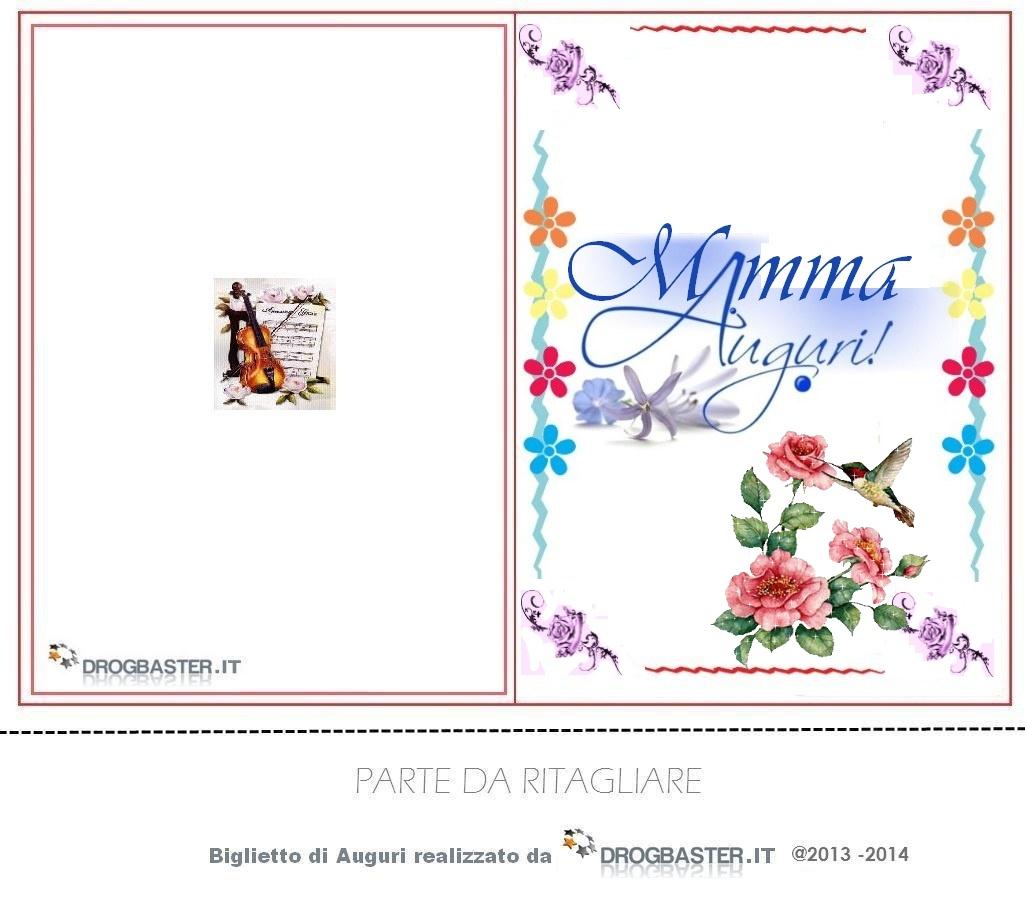 Cartoline e biglietti per la festa della mamma for Cartoline per auguri
