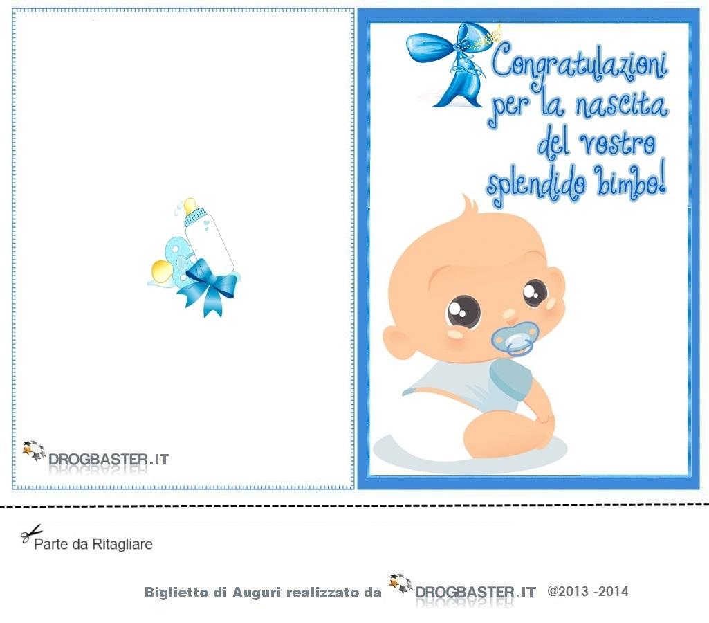 spesso Cartoline e biglietti per la Nascita o Battesimo XX71