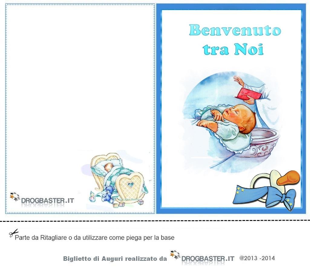 Bien connu Biglietti ringraziamento Nascita e Battesimo KJ01