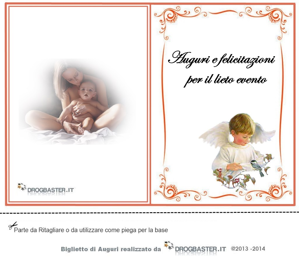 Conosciuto Cartoline Battesimo Bimba IL78 » Regardsdefemmes DX18