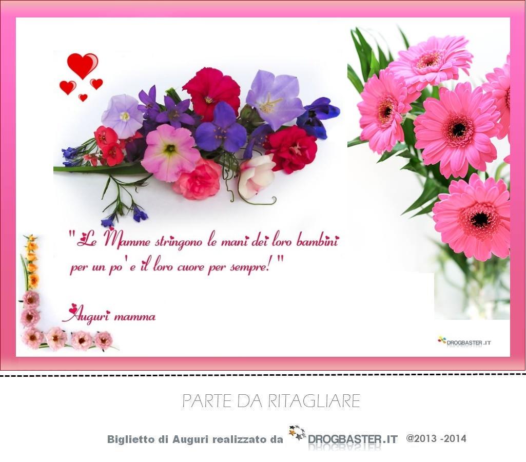 Ben noto Cartoline per fare gli auguri per la festa della mamma HH52