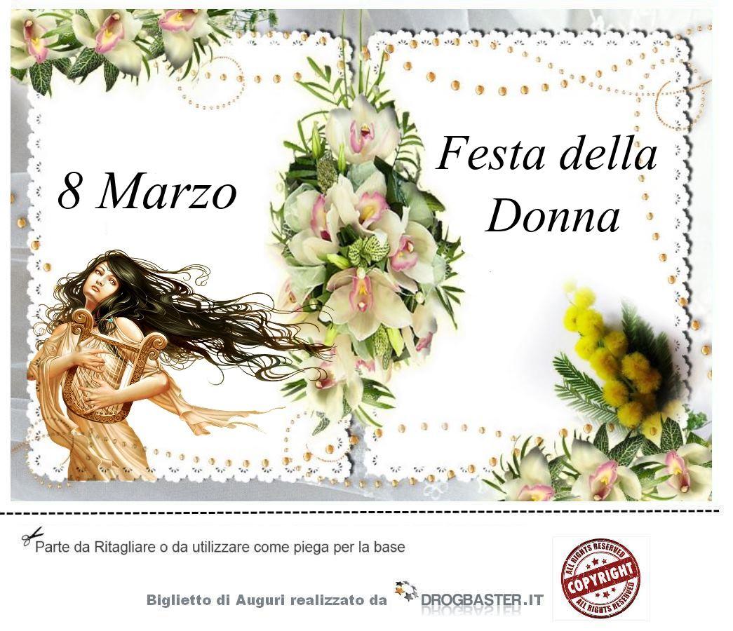 Frasi Per Matrimonio Auguri : Auguri per la festa della donna marzo bigliettini da