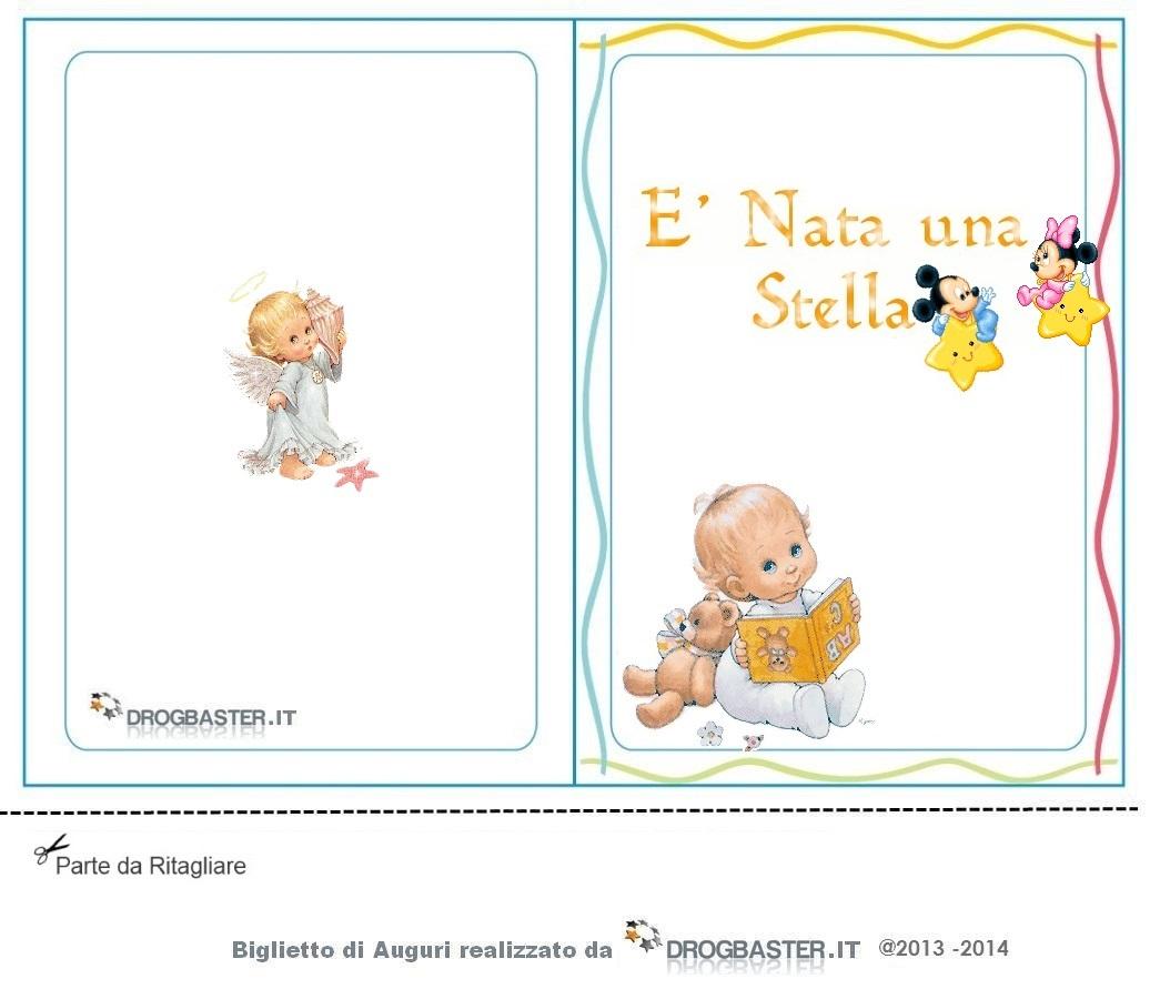 Eccezionale Cartoline e biglietti per la Nascita o Battesimo NL09