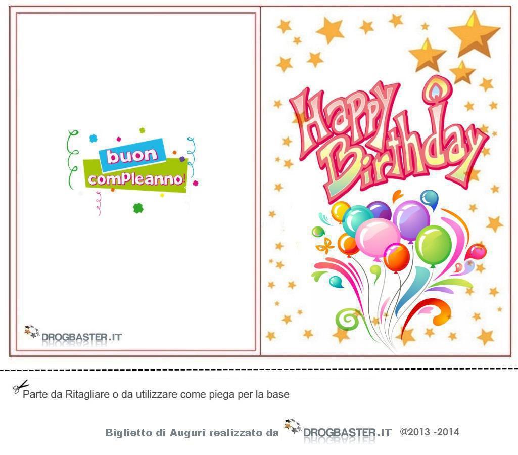 Auguri Matrimonio Battesimo : Happy birthday cartoline e biglietti per il compleanno