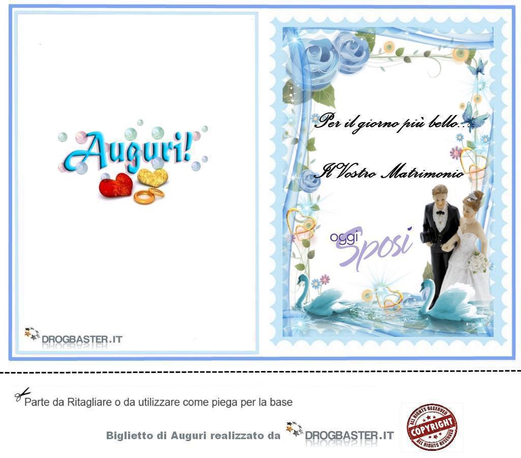Auguri Matrimonio Vasco : Auguri matrimonio da stampare gratis