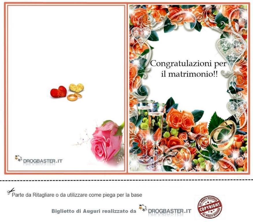 Lettere Auguri Matrimonio : Auguri matrimonio da stampare gratis