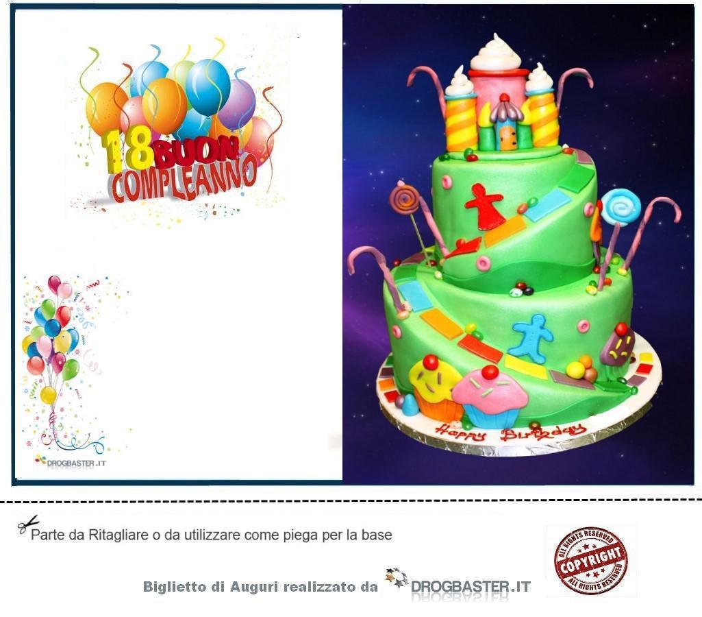 Bigliettini di compleanno per 18 anni for Lepre immagini da stampare