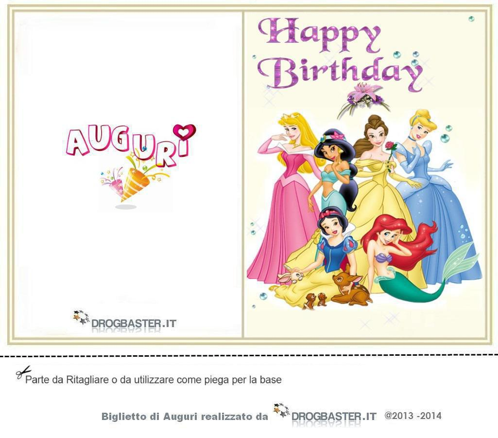 Top Cartoline e biglietti per la festa del compleanno BC99