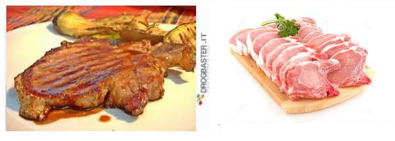 secondo piatto braciole di maiale