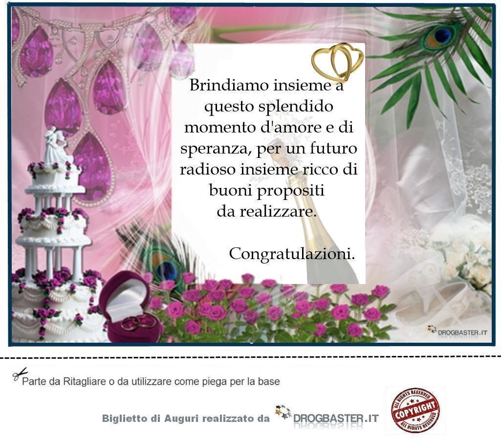 Biglietti Auguri Matrimonio Divertenti : Auguri matrimonio da stampare gratis