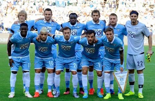 Foto di gruppo squadra Lazio